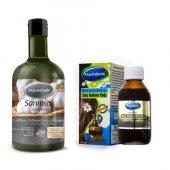 Mecitefendi Sarımsak Şampuanı 250 Ml Ve Organik Argan Yağlı Saç B