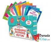 Tali 1 Davranış Eğitimi (Set 1) 10 Kitap (3 6 Yaş)+boyama Kitabı