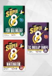 8.sınıf Süper Yeni Nesil Soru Bankası 3lü Set Nitelik Yayınevi