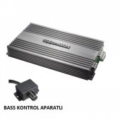 Soundmax Sx 4100.4 5000w 4x100w Rms Profesyonel Anfi Bas Kumandalıdır