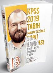 Benim Hocam Yayınları 2019 Kpss Tarih Tamamı Çözümlü Soru Bankası