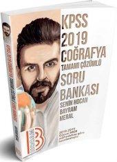 Benim Hocam Yayınları 2019 Kpss Coğrafya Tamamı Çözümlü Soru Bankası
