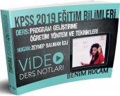 Benim Hocam Yayınları 2019 Kpss Eğitim Bilimleri Program Geliştirme Öğretim Yöntem Ve Teknikleri Video Ders Notları