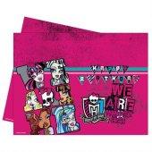 Monster High Masa Örtüsü Doğum Günü Parti Örtü Ucuz 120x180
