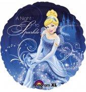 Disney Prensesler Sindirella Folyo Balon 45cm Helyumla Uçan