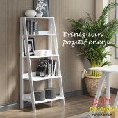 çiçeklik & Kitaplık Loft Ahşap