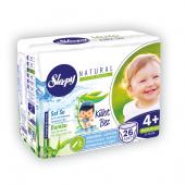 Sleepy Natural Külot Bez 4+ Numara Maxi Plus (9 16 Kg) 26 Adet