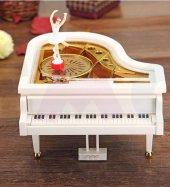 Piyano Tasarımlı Balerinli Müzik Kutusu