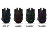 Everest Sm 790 Siyah 3200 Dpı Gaming Mouse