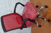 çalışma Sandalyesi Kromaj Ayaklı