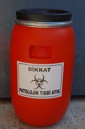Patolojik Atık Fıçısı 30 Lt Ücretsiz Kargo