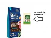 Brit Premium Adult Kuzu Etli Yetişkin Köpek Maması 15kg