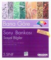 5. Sınıf Sosyal Bilgiler Soru Bankası 2 Kitap (Onadım Yayınları)