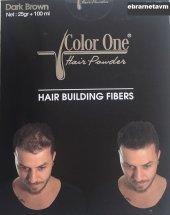 Color One Koyu Kahverengi Bay Bayan Saç Dolgunlaştırıcı