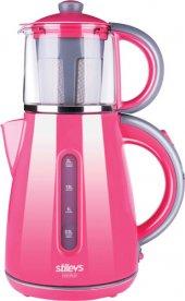 Stilevs Çays Cm 16 Çay Makinesi Pembe Kırmızı Mor Siyah