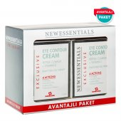 New Essentials Göz Çevresi Bitki Kök Hücre Terapi Kırışıklık Kremi 2li Avantaj Paket