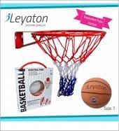 Basketbol Pota Çemberi Fileli 18 Mm + Top Hediye
