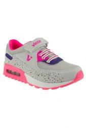 Vicco 938.z.258 Gri Pembe Kız Çocuk Spor Ayakkabısı 31..35