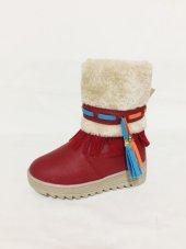 Vicco 954.v.637 Kırmızı Kız Çocuk Botu Ücretsiz Kargo Kampanya
