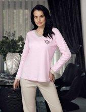 şahinler Kadın Pijama Takımı Pembe Mbp23705 1