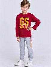 Rolypoly Çocuk Lisanslı Galatasaray Kırmızı Eşofman Takımı 9887