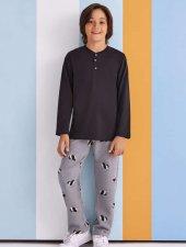 Rolypoly Erkek Garson Çocuk Kombin Pijama Takımı 1325