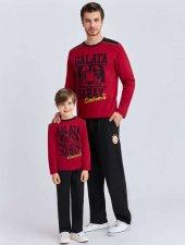 Rolypoly Garson Lisanslı Galatasaray Kırmızı Pijama Takımı 9890