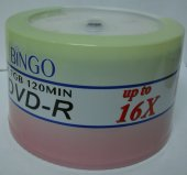 Bingo Dvd R 50li 4.7gb 16x Cakebox