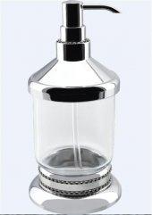 Dibanyo Exclusive Set Üstü Sıvı Sabunluk Krom