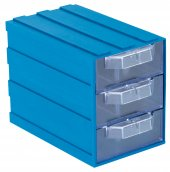 Sembol Plastik Set 102 3 Mavi Şeffaf Plastik Çekme...