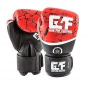G4f Kıck Boxıng Gloves Leather Red Earth (Gf010)