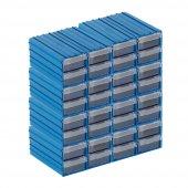 Sembol 300 Plastik Çekmeceli Kutu 110x122x58mm (40 Çekmeceli)