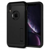 Iphone Xr Kılıf, Spigen Tough Armor Black