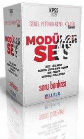 2019 Kpss Genel Yetenek Genel Kültür Soru Bankası Modüler Set 5 Kitap Lider Yayınları