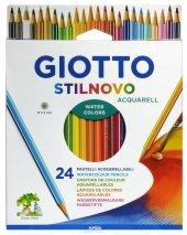 Giotto Stilnovo Acquarell Askılı Paket 24 Renk Set
