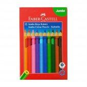 Faber Castell Jumbo Boya Kalemi 12 Renk
