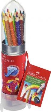 Faber Castell Grip Boya 15 Renk Roket