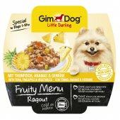 Gimdog Fruity Ton Balıklı Ananas Sebzeli Ezme Köpek Konservesi 10