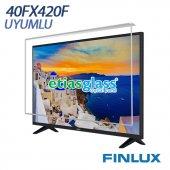 Fınlux 40fx420f Tv Ekran Koruyucu Ekran Koruma Camı Etiasglass