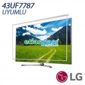 Lg 43uf7787 Tv Ekran Koruyucu Ekran Koruma Camı Etiasglass
