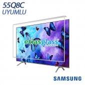 Samsung 55q8c Tv Ekran Koruyucu Ekran Koruma Camı Etiasglass