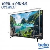 Beko B43l 5740 4b Tv Ekran Koruyucu Ekran Koruma Camı Etiasglass