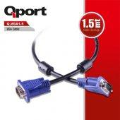 Qport Q Vga1.5 1,5 Metre Vga Kablo