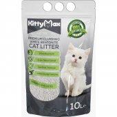 Kittymax 10 Litre Doğal Kokusuz Bentonit Kedi Kumu