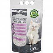 Kittymax 10 Litre Lavanta Kokulu İri Taneli Bentonit Kedi Kumu
