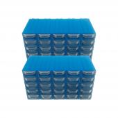 Akar Es 52 Plastik Çekmeceli Kutu (50' Li Pake...
