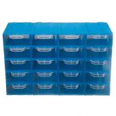 Akar Es 105 Plastik Çekmeceli Kutu (20&#039 Li Paket)