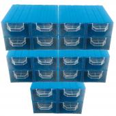 Akar Es 120 Plastik Çekmeceli Kutu (20&#039 Li Paket)