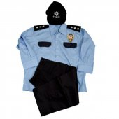 Erkek Çocuk Asayiş Polis Kostümü