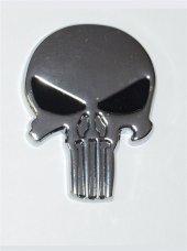 Kuru Kafa Metal Krom Siyah Logo